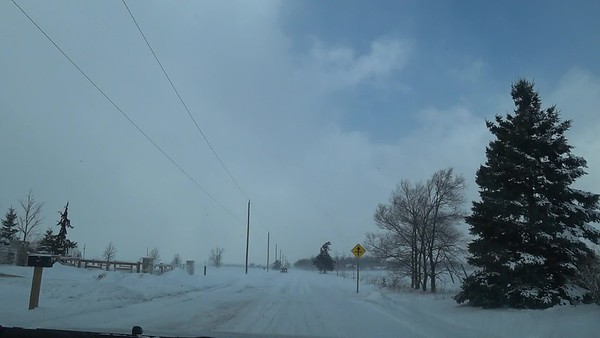Blowing Snow and White Out Conditions