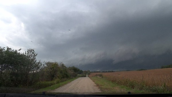 The Drive To The Walkerton, Ontario Tornado Warned Storm. September 14th, 2021.