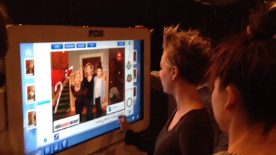 Kaley Cuoco Playing Around with TapSnap