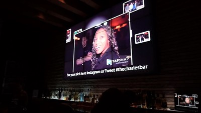 TapSnap's SnapCast Social Media Wall