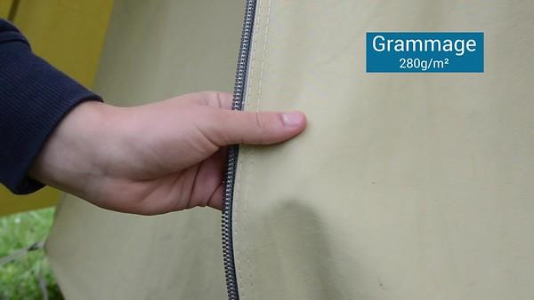 La tente patrouille des Scouts et Guides de France