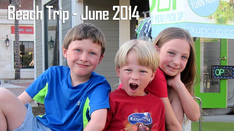 Beach Trip June 2014