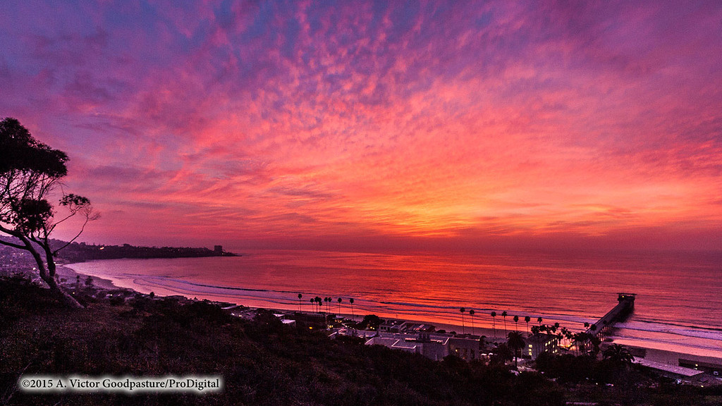 San Diego Sunset time lapse