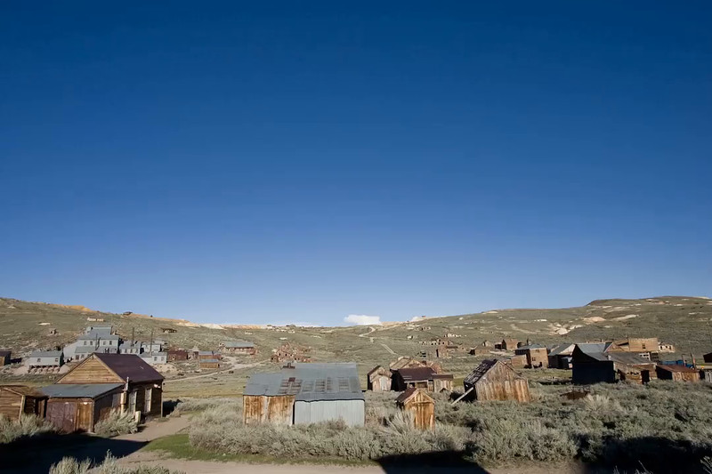 Bodie Ghost Town in time lapse