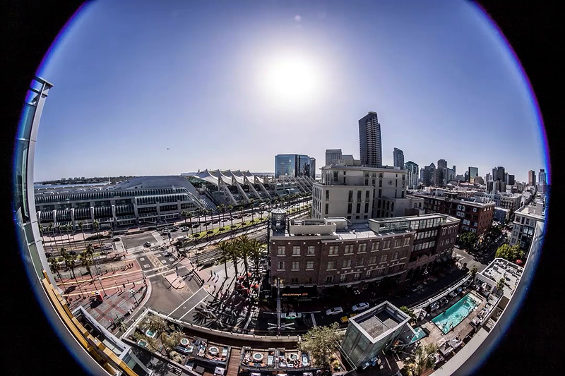 San Diego Downtown time lapse
