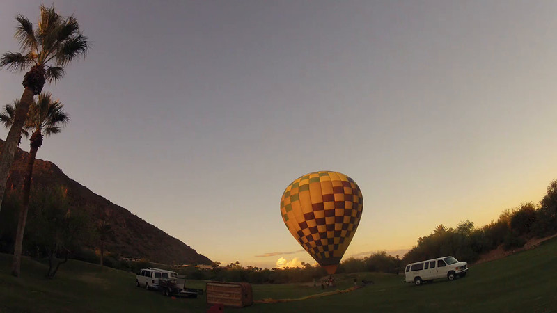 Tethered Balloon Lift time lapse