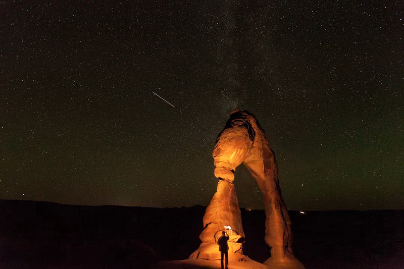 Delicate Arch time lapse