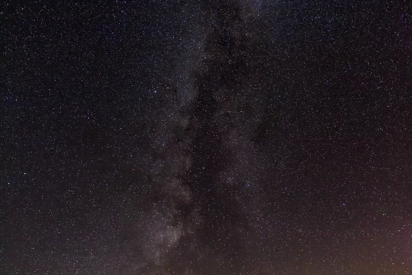 Milky Way time lapse