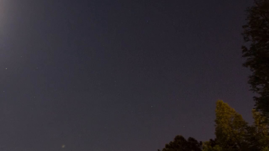 Total Lunar Eclipse in time lapse