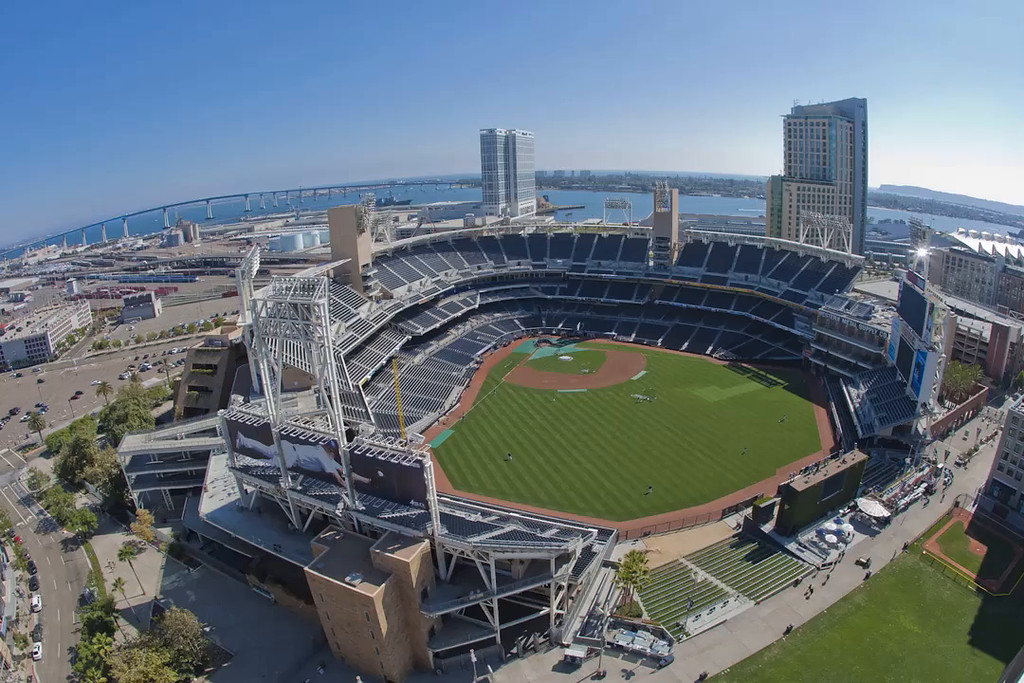 PETCO Park in time lapse