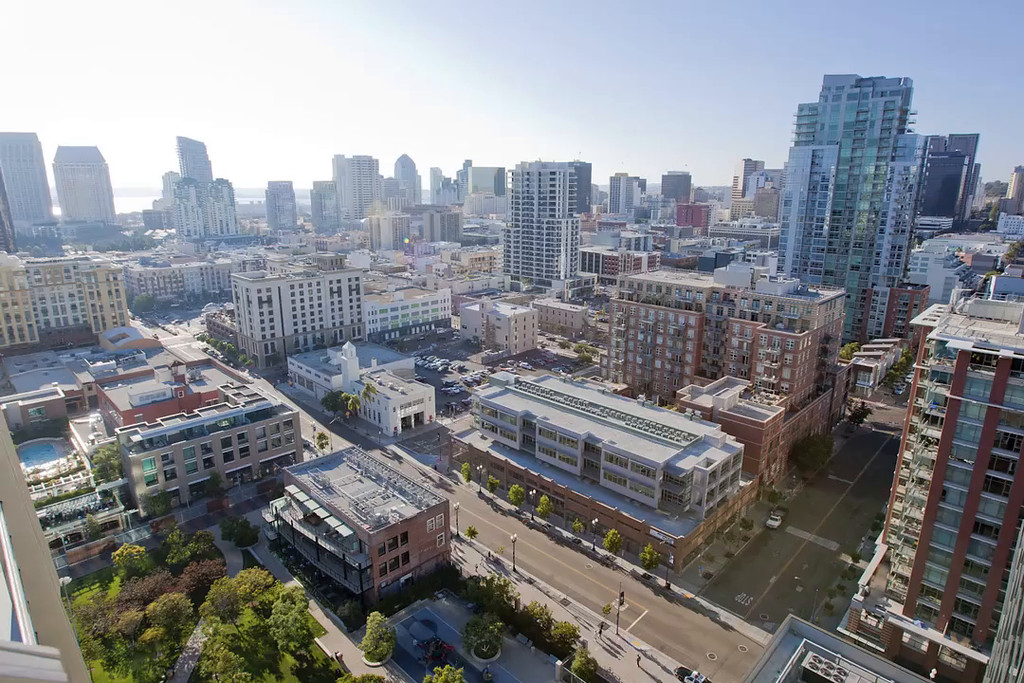 San Diego Downtown time lapse