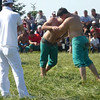 Turkish wrestling at a festival near Alaçam