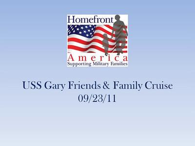 USS Gary Cruise 09/23/11