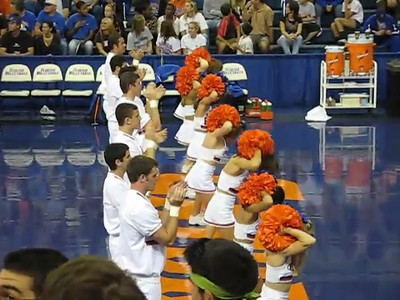 UF vs. Arkansas volleyball,  November 4, 2007.