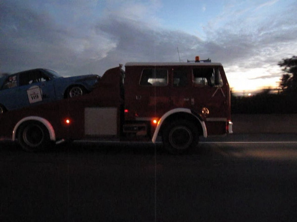 Spotted this Acco on the highway the other night took a video as a flash would have upset the driver a little.