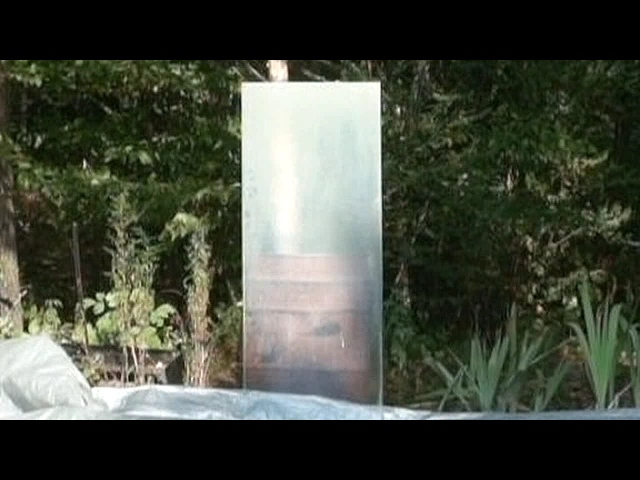 Old shower door that I wanted to capture in slow motion video. Shot at 240 frames a second. Watch the hatchet as it slowly comes in and the glass doesnt immediately break.