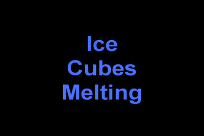 This is a time lapse of 5 ice cubes melting over a 2 hour period. 1133 pictures were made and condensed to 30 seconds