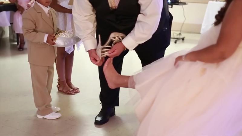 Shoe Ceremony & Dad & Daughter Dance