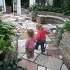 "Lillian and Eve walked all around the Conservatory like this.  Lillian would ask Eve ""More walk?"" and they would take each other's hands and set off.<br /> February 10, 2009"