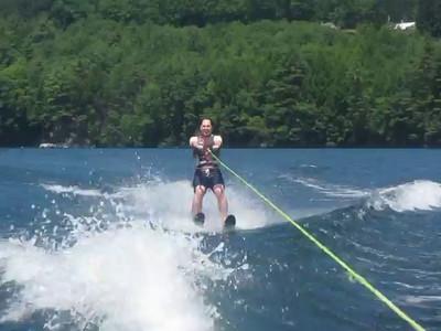 Water Skiing at Camp Boo