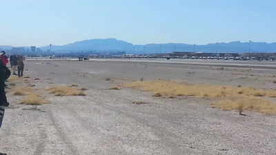 UAE Mirages taking off at Nellis AFB