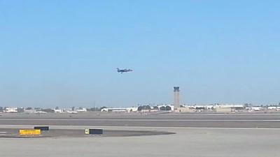 F-35 Lightning II hover over MCAS Yuma 05/2013
