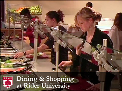 Dining and Shopping at Rider University