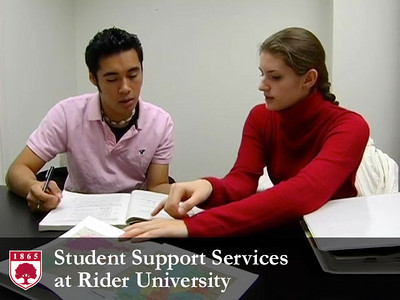 Student Support Services at Rider University
