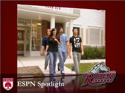 Rider University ESPN Spotlight 2009