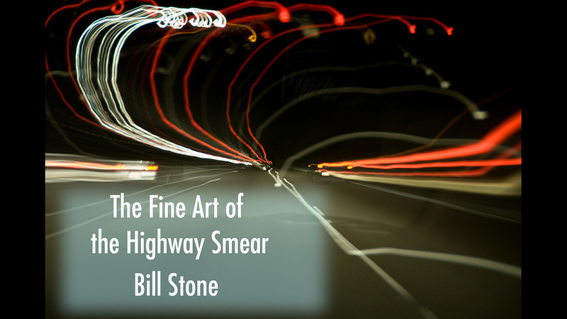 The Fine Art of the the Highway Smear: A Video by Bill Stone