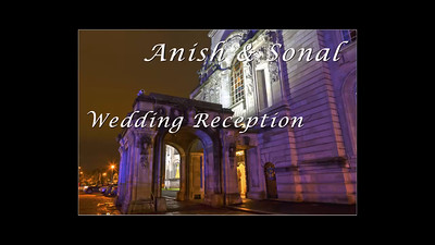 Indian Wedding Reception at Cardiff City Hall