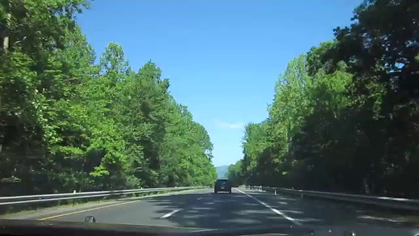 I-64 Headed For the Blue Ridge Mountains - 5/24/14