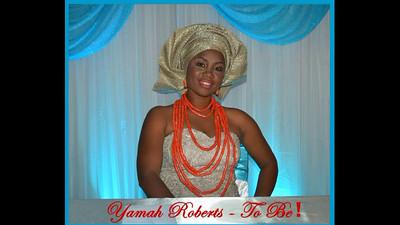 Yamah and Simeon Bridal Shower  7/31/2015