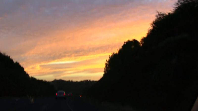 Yosemite National Park Sunset and Sky