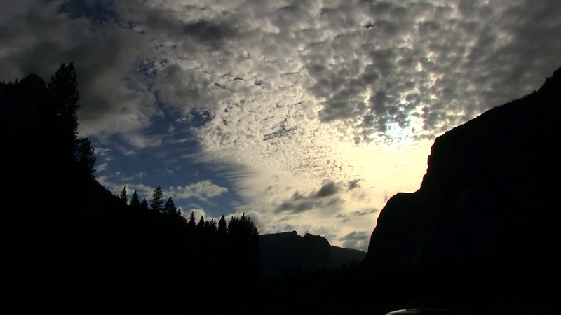 Yosemite National Park Sunset and Sky