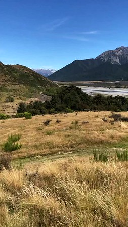 Waimakariri River looking towards the Hawdon Valley, Arthur's Pass