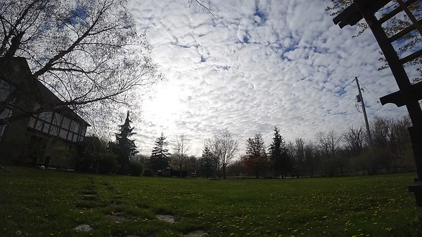 Beautiful Altocumulus Strataformus Cloud Sunset Timelapse. May 11th, 2017