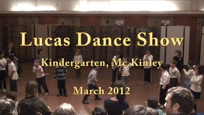 Kindergarten Dance Show