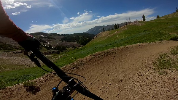 Mountain Biking POV at Snowbird Mountain Resort