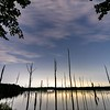 A Timelapse Video Of A Cloudy Night Over Manasquan Reservoir 7/31/21