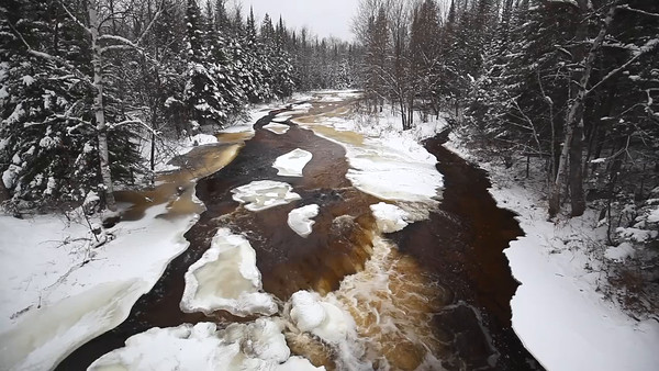 Winter Root Beer - Rapid River (Hwy 41 - Upper Michigan)