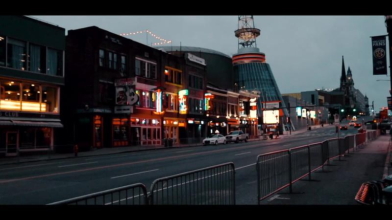 Empty Nashville