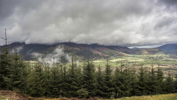 Time Lapse : Skiddaw enveloped in cloud