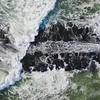 Ocean Wave Hitting Rock Jetty On Ocean Grove Beach 9/25/21