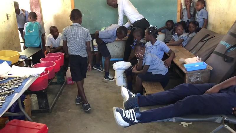 Jeremie, Haiti School and Port-au-Prince Church