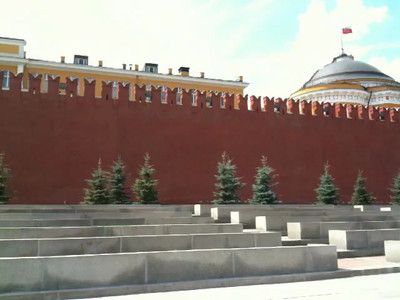 Looking Around Red Square