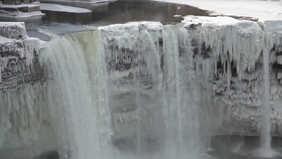 High Falls in the Winter