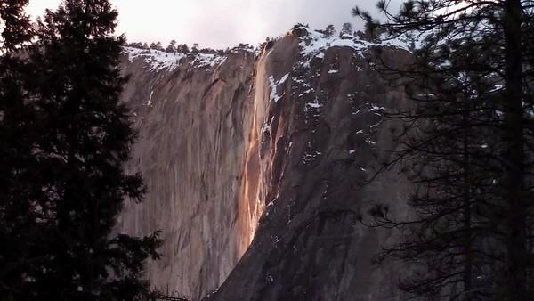 Horse Tail Falls, Yosemite, CA