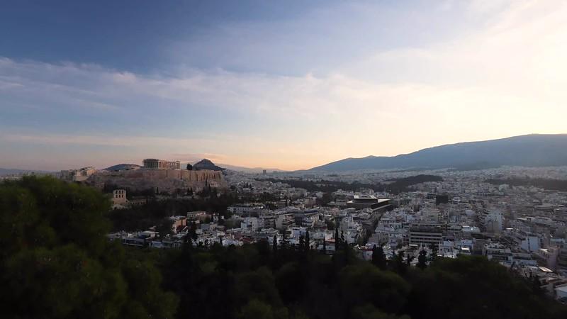 Athens Sunrise
