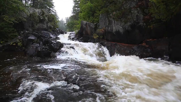 Rainy Run Down - Dave's Falls (Amberg, WI)